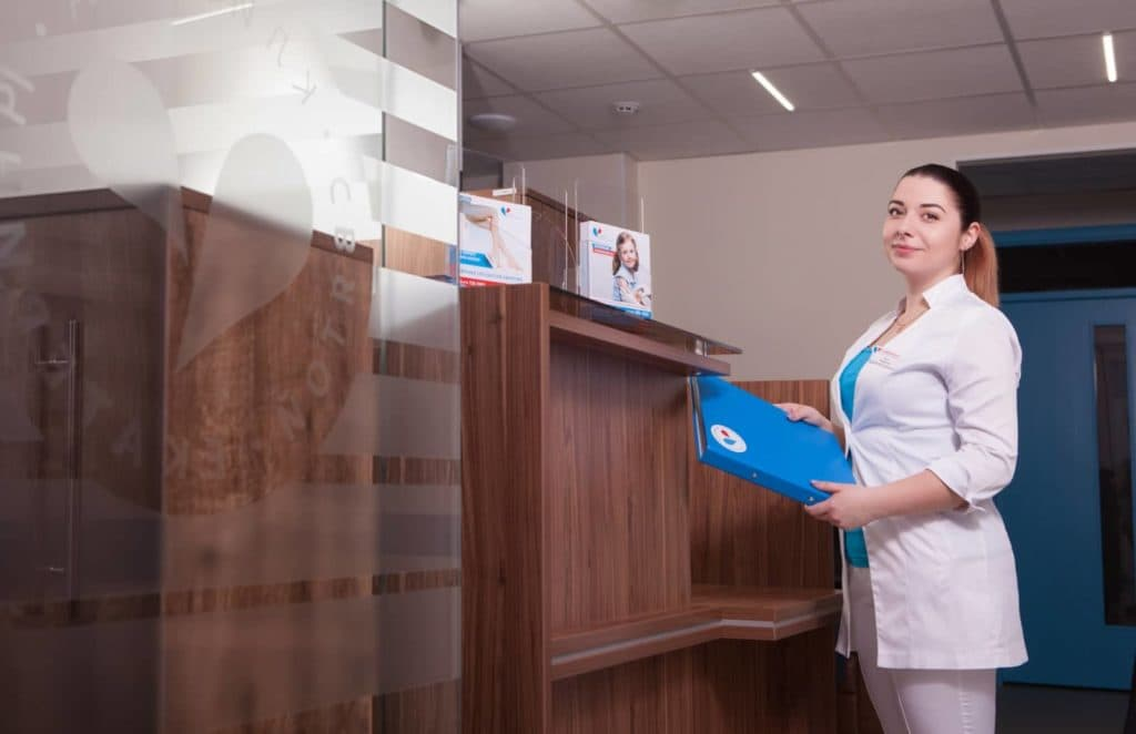 Отделение гинекологии в клинике Святой Екатерины
